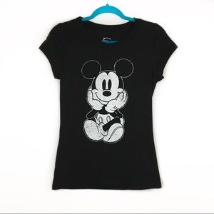 Disney Girls Mickey Mouse Graphic Tee Shirt